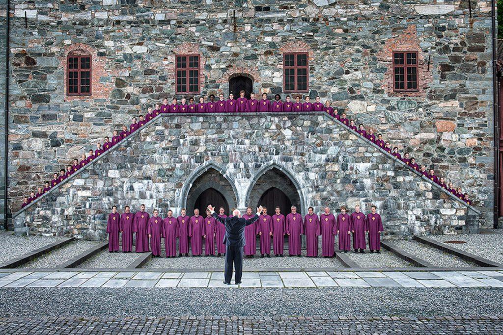 Knabenchor der Nidaroskathedrale Trondheim ist einer der führenden Knabenchöre in Europa. Bild: Nidarosdomens Guttekor
