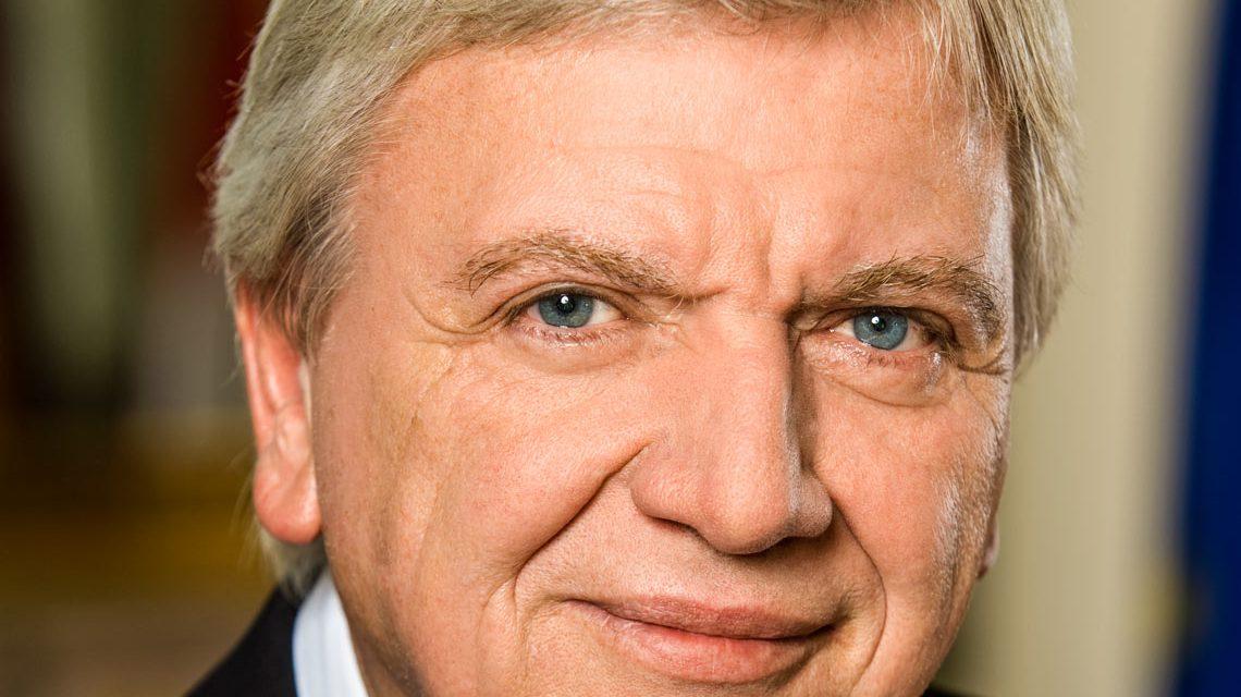 Ministerpräsident Volker Bouffier Foto: Staatskanzlei