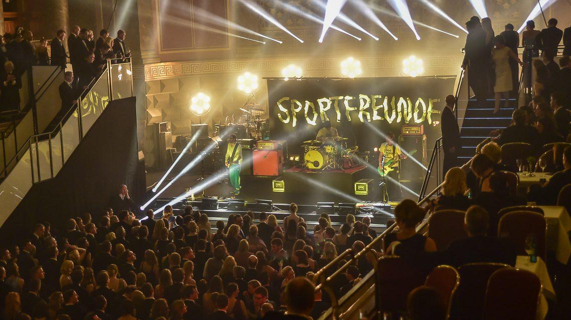 """Aus dem Ballsaal zum Konzert der """"Sportfreunde Stiller"""""""