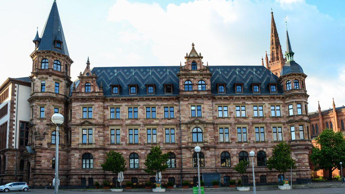 Nachrichten aus dem Rathaus Wiesbaden. Ralph Schüler, Bernhard Lorenz meinRad-Standorte, Stadtverordnetenversammlung ©2017-02 Volker Watschounek
