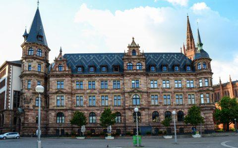Nachrichten aus dem Rathaus Wiesbaden. Ralph Schüler, Bernhard Lorenz Foto: ©2017-02 Volker Watschounek