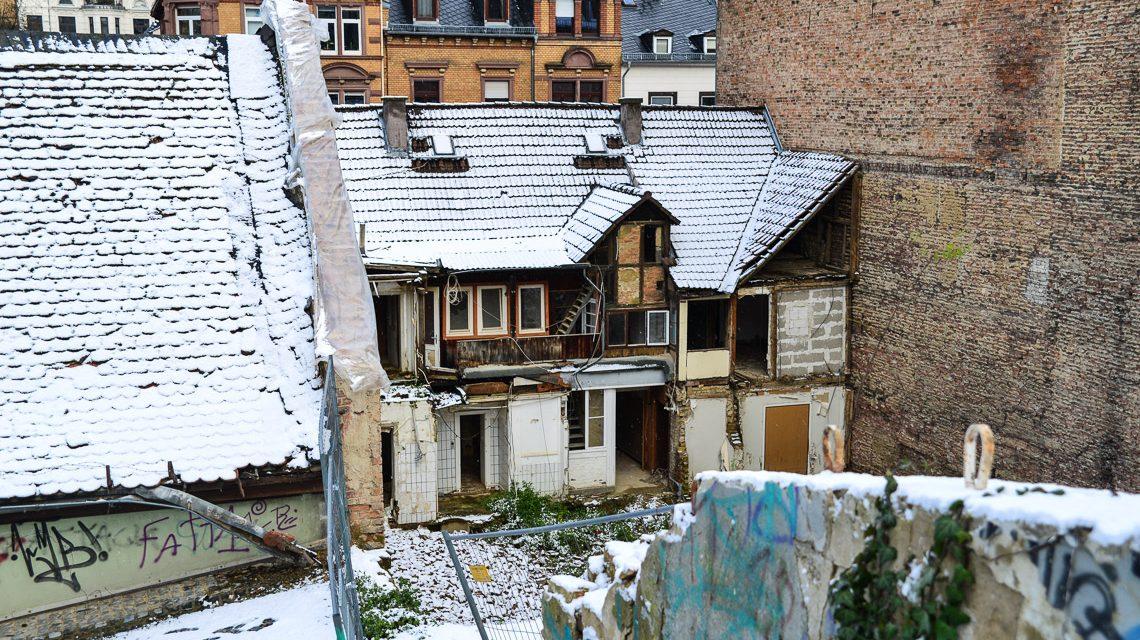 Bergkirchenviertel Anfang Januar. Foto: Volker Watschounek
