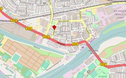 Neue Versorgungsleitungen für die Hauptstraße. Foto: Open Street