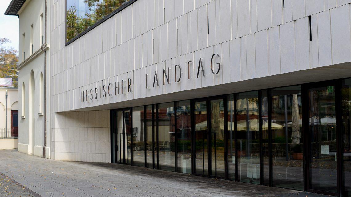 Hessischer Landtag. Foto: Volker Watschounek