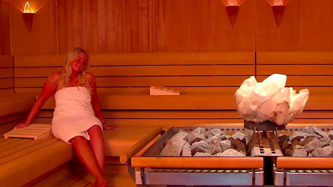 Angenehm entspannen in der Kristallsauna im Thermalbad Aukam. Bild: Mattiuaqua