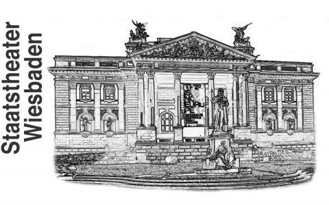 Theaterfest, Hessisches Staatstheater Wiesbaden, Symbolbild: Volker Watschounek