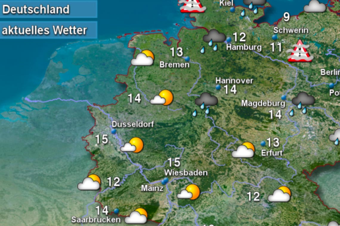 Wettervorhersage Wiesbaden 14 Tage