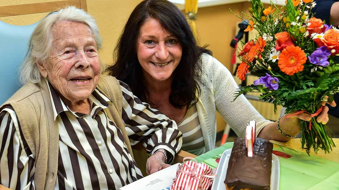 Annemarie Bartmann feiert ihren 100. Geburtstag