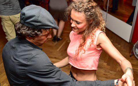 Salsa Party in der Tanzschule Hohmann, im Mamasita in Wiesbaden Nordenstadt. Bild: Volker Watschounek