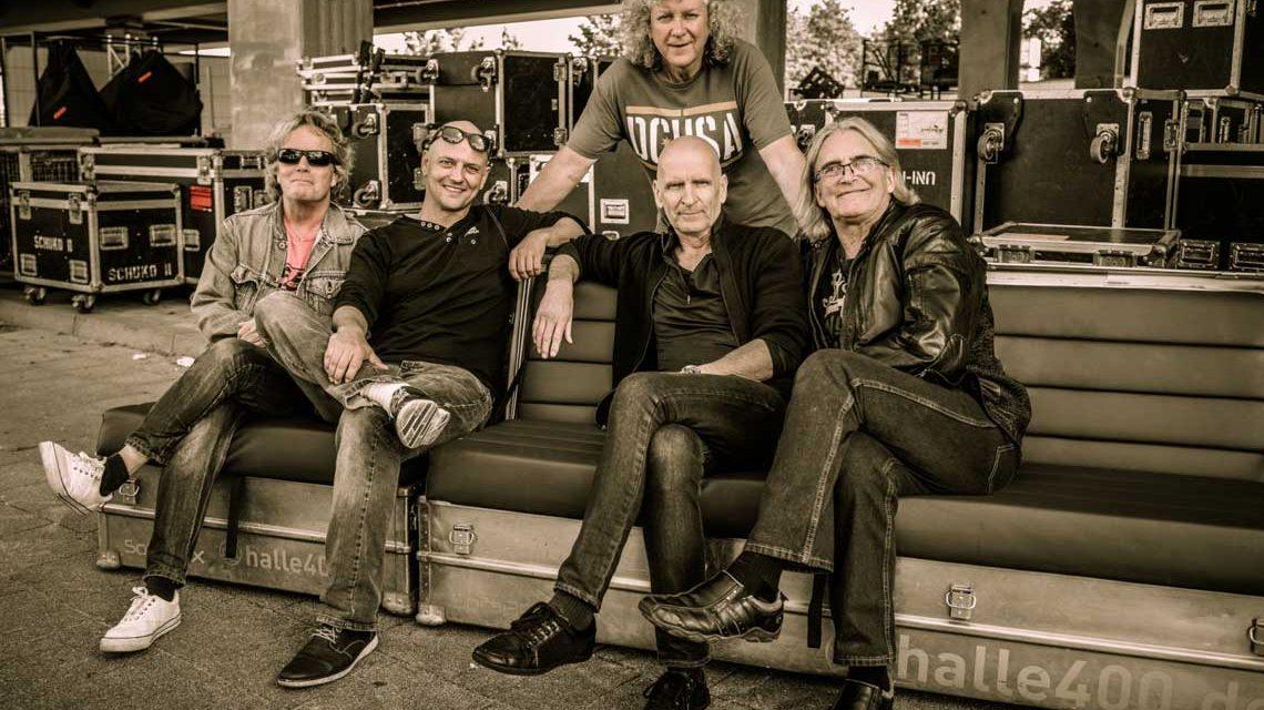 Wer kennt sie noch, die alten Rocker. Die Kultband Saga kommt nach Wiesbaden. Bild Willi Carl