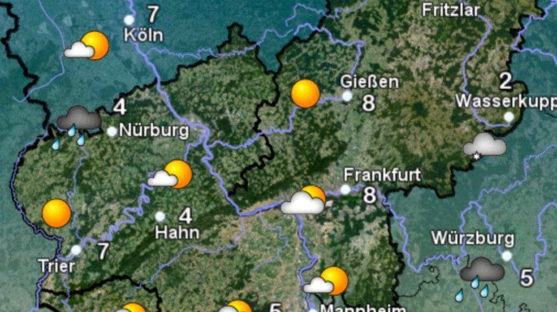 Wetter Sonntag Wiesbaden