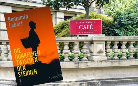 Benjamin Lebert liest im Literaturhaus aus seinem neuem Roman. Biild: Volker Watschounek / Amazon