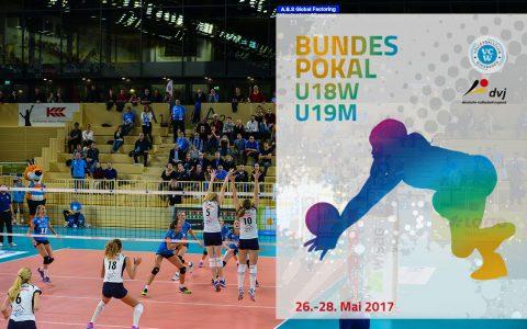 Deutcshlands Volleyball nachwus trifft sich in Wiesbaden zum Bundespokal. Bild: Volker Watschounek