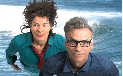 Silvana Prosperi und Thomas Prosperi, zusammen Faltsch Wagoni. Bild: Faltsch Wagoni