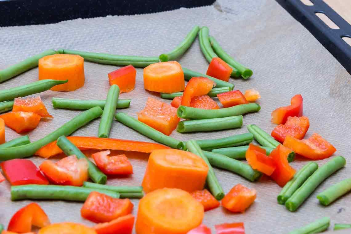 Gemüse, gegart, gebacken … gegrillt. Bild: Marco Verch / CC-BY / Flickr