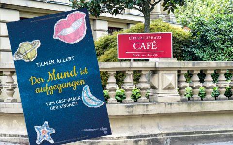 """Der Soziologe Tilman Allert stellt sein Buch """"Der Mund ist aufgegangen"""" im Literaturhaus vor. Bild: Volker Watschounek / Amazon"""