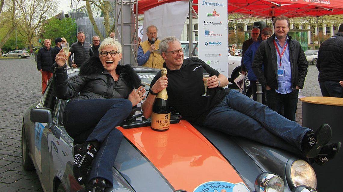 Walter Röhrl besucht seine Rallye Wiesbaden…