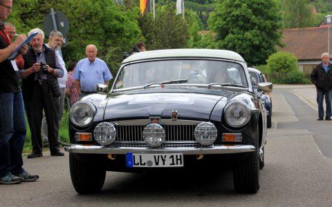 Fritz Binder und Stephan Köpel vom Team Speedtreibhaus Classic. Bild: Wiesbadener Automobilclub