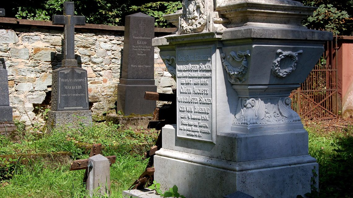 Der Gang über den Friedhof ist ein Gang durch die russische Geschichte. Bild: Rainer Niebergall