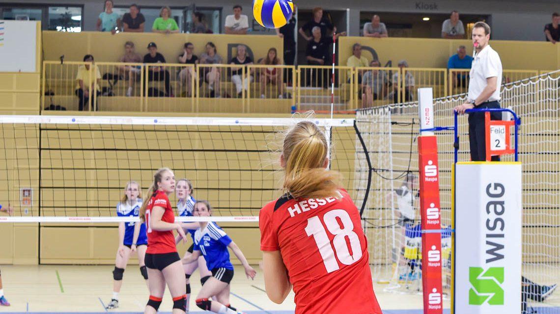 Kein guter Tag für Hessens Nachwuchsvolleyballer