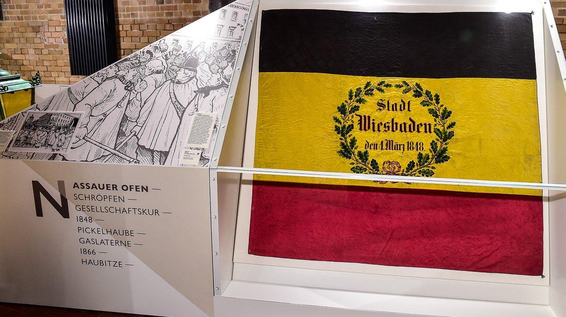 """Am Abend des 1. März 1848 trafen sich die Anführer der liberalen Bewegung im Hotel """"Vier Jahreszeiten"""" in Wiesbaden zur Beratung. Bild: Volker Watschounek"""