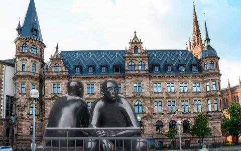 Wiesbadens Ausschüsse tagen ... Ostfeld Kalkofen ©2018 Volker Watschounek / Martina Röll