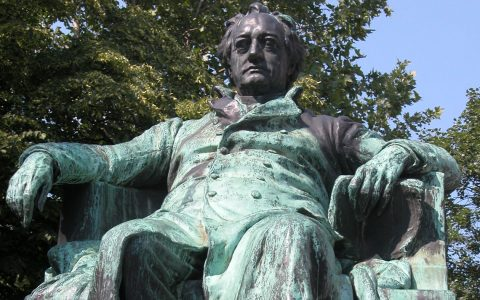 Goethe Denkmal in Wien. Bild: Robert Scarth / CC-BY / Flickr