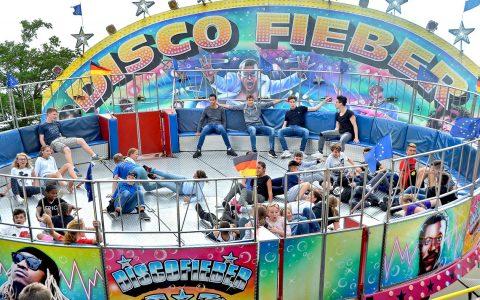 Disco Fieberauf dem Hainerbergfest. Bild: Karl Weisel