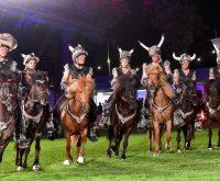 Pferdenacht beim Internationalen Pfingstturnier. ©2017 Volker Watschounek