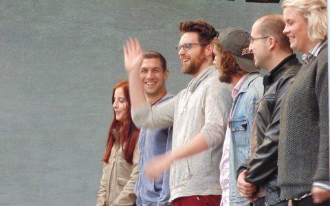 Teilnehmer des Poetry Slam 2017 Wiesbaden, Sommerfestspiele - Bild: Heiko Schulz