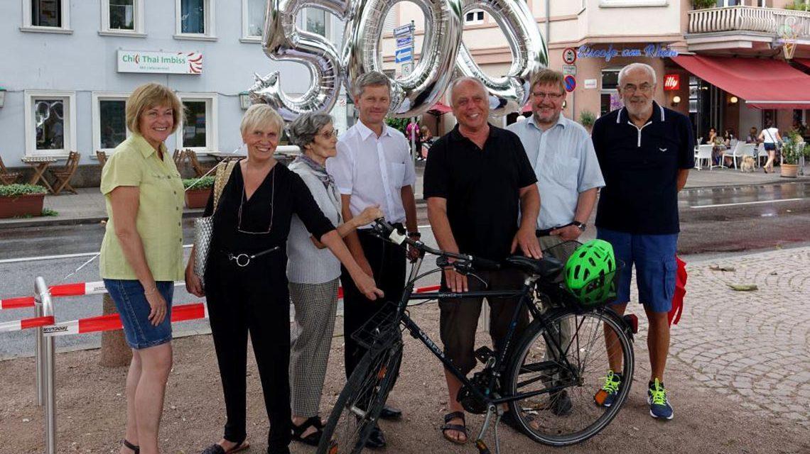 Neue Fahrradständer für Wiesbaden. Bild: Dezernat V