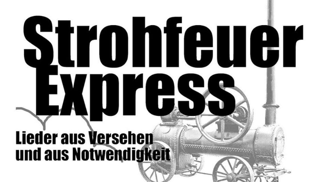 Akustikkonzert von Strohfeuer Express im Infoladen. Bild: Strohfeuer Express