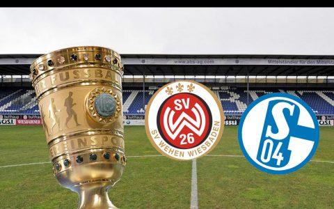 DFB Pokal, 2 Hauptrunde – Zu Gast die Königsblauen aus Wiesbaden. Volker Watschounek