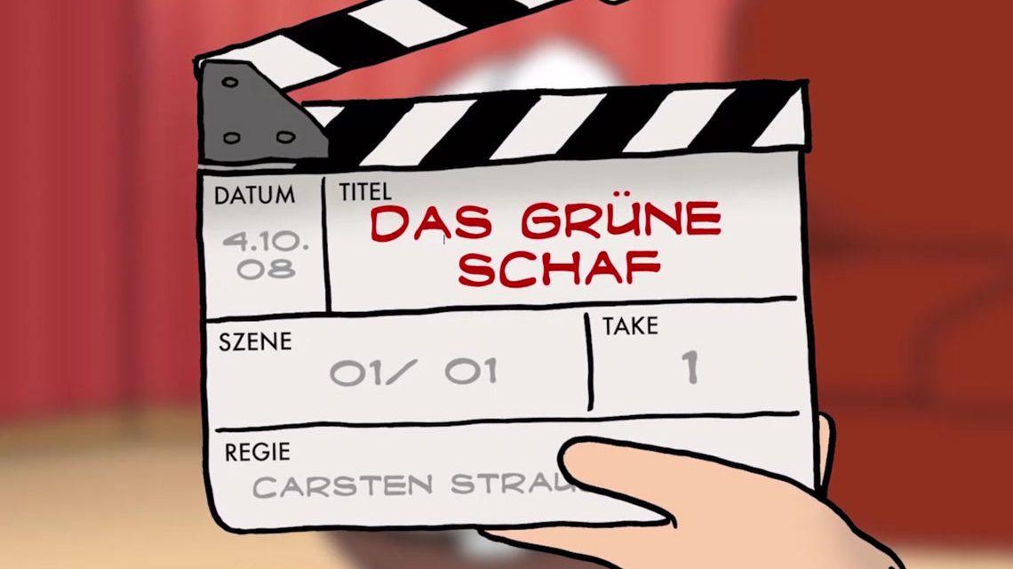 """Kurzfilm """"Das grüne Schaf"""" von Carsten Strauch. Bild: Carsten Strauch"""