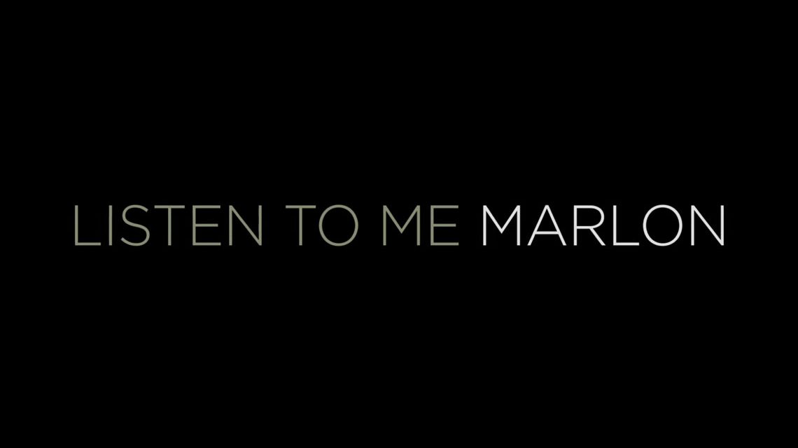 """Marlon Brando erzählt über sich selbst – """"Listen to Me, Marlon."""" Bild: Veranstalter"""