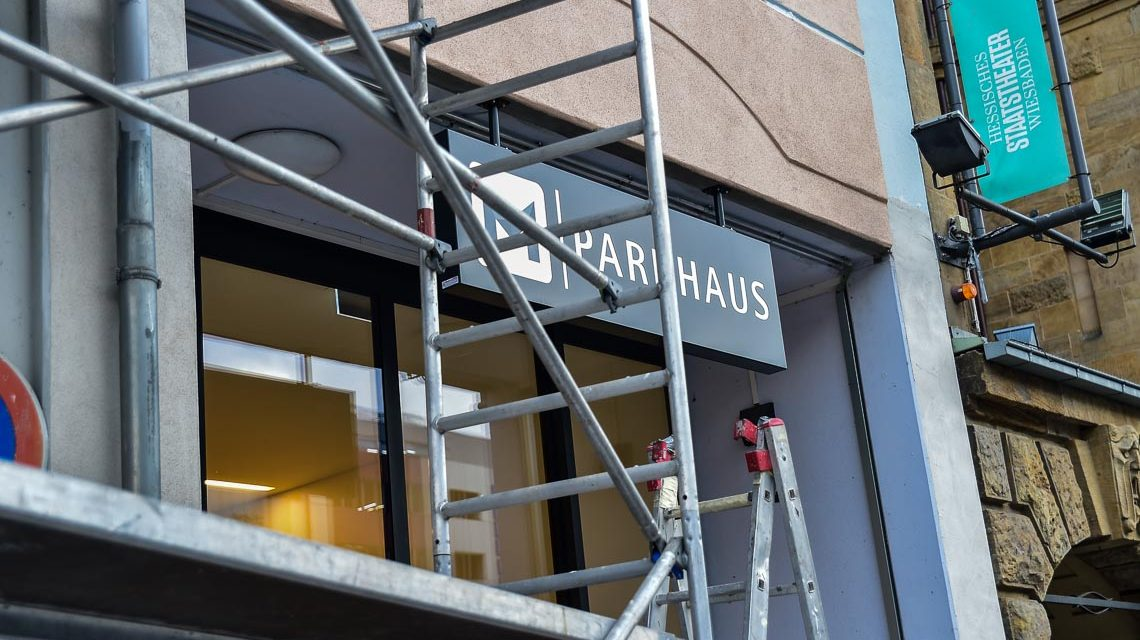 Parkhaus Mauritius Galerie Wiesbaden