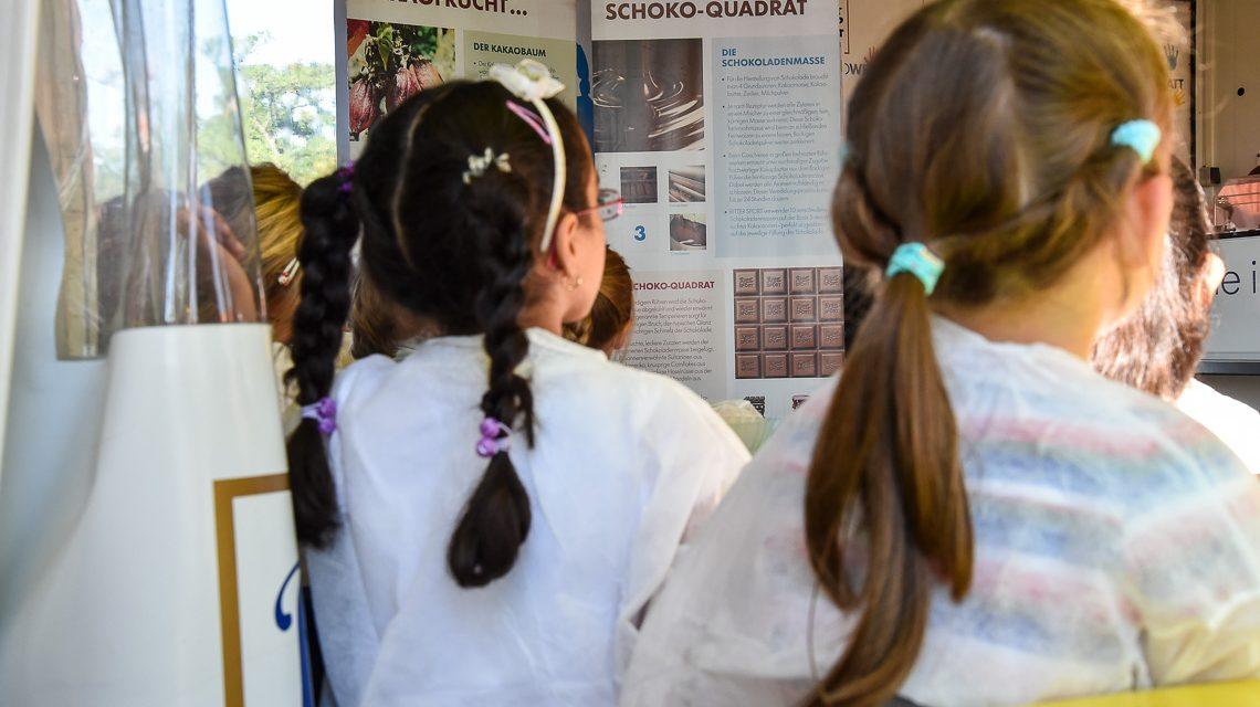 Schokoladenwerstatt: Schokolade im Stundentakt bei Globus