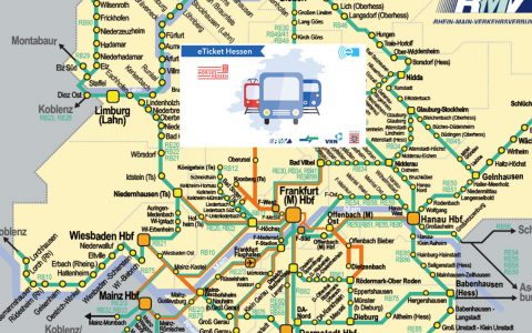 Das neue Schülerticket ... grenzenloses fahren in ganz Hessen. Bild: RMV