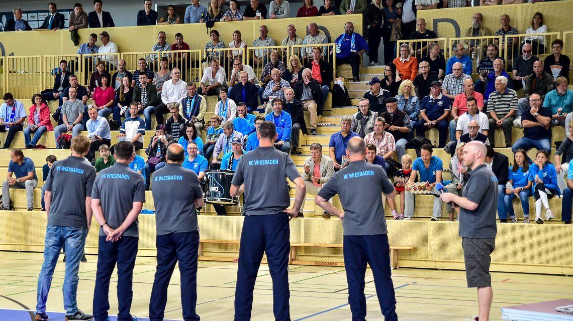 VC Wiesbaden präsentiert seine Mannschaft
