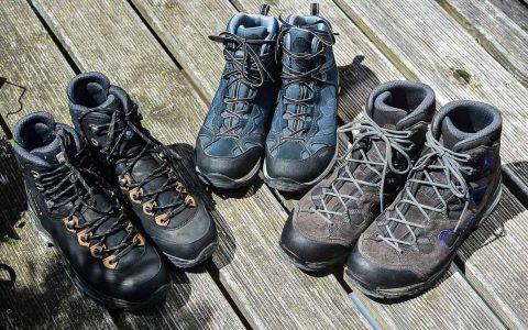 Die Schue sind gepuztzt und geschnürt, Am Sonntag kann es losgehen. Bild: Volker Watschounek
