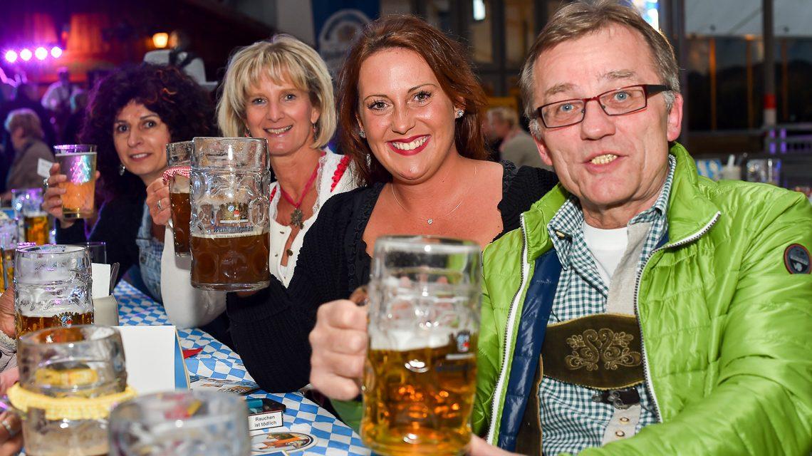Oktoberfest auf der Enzianhütte in Wiesbaden