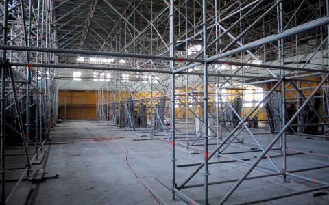 Sporthalle, Sanierung ... Symbolbild: Flickr / Michimaya