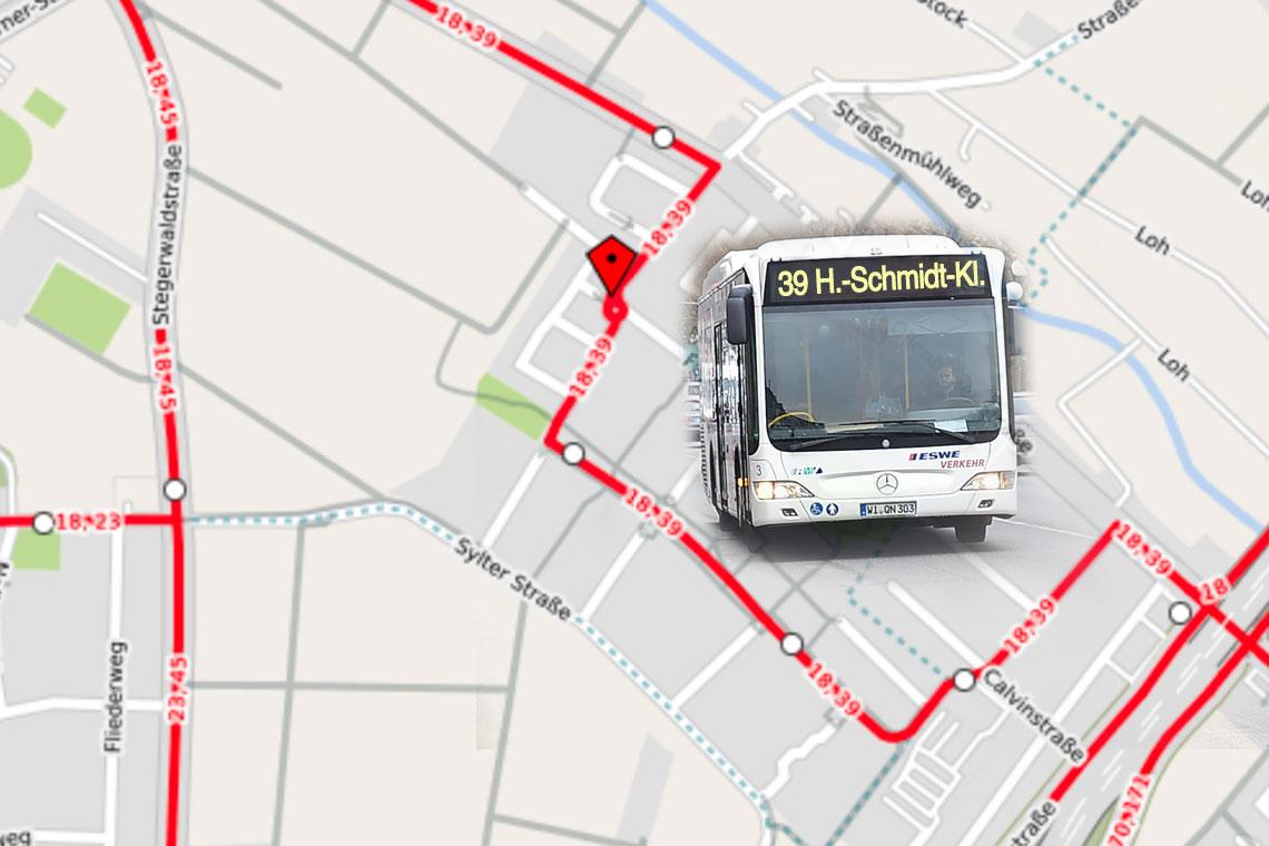Umleitung Der Buslinien 18 39 Und N12 Wiesbaden Lebt