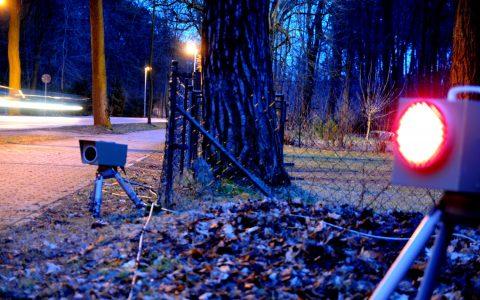 Geschwindigkeitsüberwachung auf der Landstraße. Bild: ©2017 eso GmbH, der Spezialist für Verkehrsüberwachung