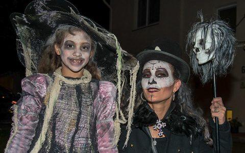 Halloween auf dem Hainerberg. Bild: ©2017, Volker Watschounek