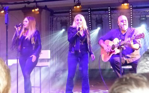 Mega-Star Kim Wilde beim Love-Ball in Frankfurt. Bild: Jahre Uhlig