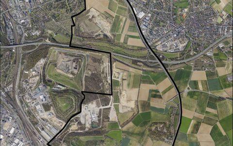 Stadt entwickelt neuen Ortsteil. Bild: Stadt Wiesbaden