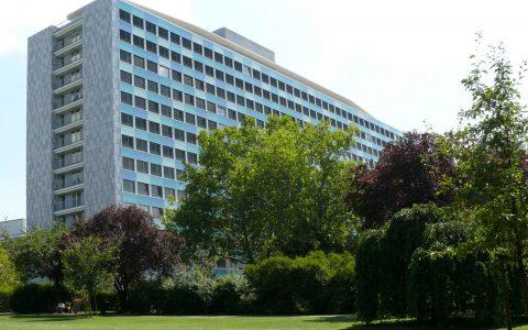 Außenansicht des Statistischen Bundesamtes in Wiesbaden,. Bild: Statistisches Bundesamt