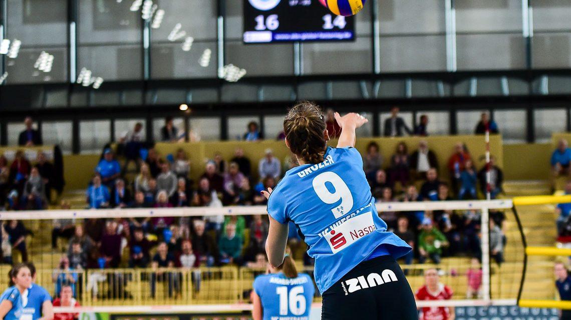 Die Volleyball-freie Zeit hat ein Ende. Bild: Volker Watschounek