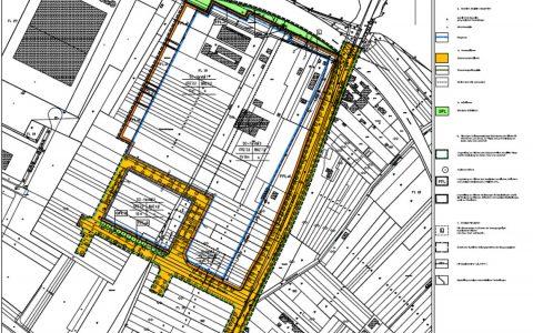 Bebauungsplanentwurf, Nördlich der Ernst-Galonske-Straße - Petersweg-Ost in Mainz Kastell. ©2017 Stadtplanungsamt